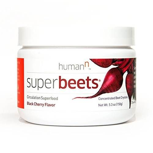 SuperBeets is a beetroot extract and when it is taken regularly it has shown an improvement in stamina, energy and blood circulation.
