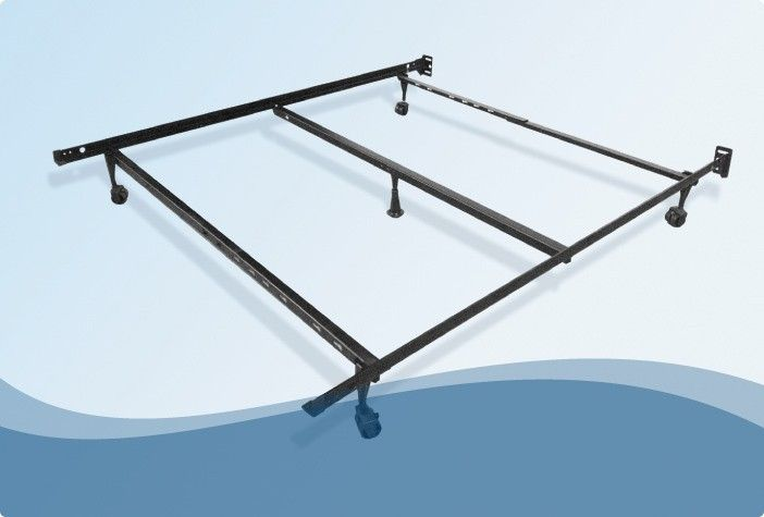 Breeze™ METAL FRAME Your box springs and Comfortaire mattress can rest securely on our sturdy steel frame.