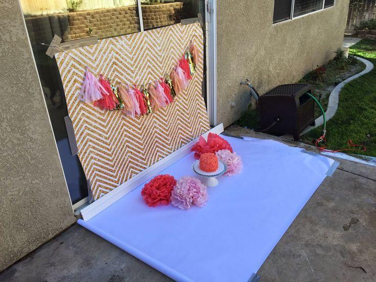 Image result for cake smash setup