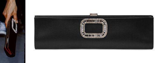 Roger Vivier Embellished Long Clutch Bag pGEY9XTYP