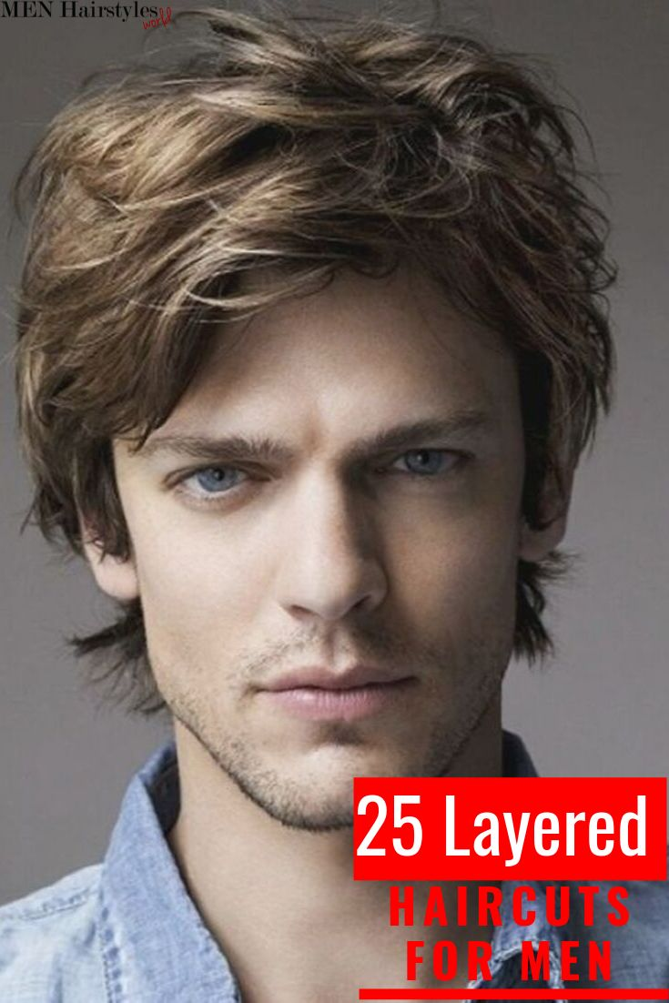 Layered haircuts will fit the needs and meet the requirements of all men, whethe…   – Layered Haircuts for Men