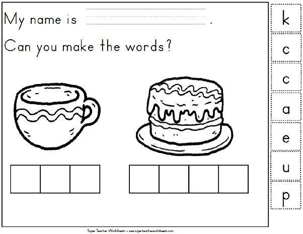 18 best images about Phonics Super Teacher Worksheets on – Phonics for Kindergarten Worksheets