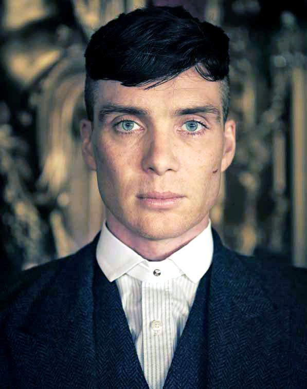 'My character Tommy Shelby is a pretty intense man to play. He's very physical, a street-fighting man, and I'm a complete wimp. So I had to get back to the gym to try to at least look like a bloke who...