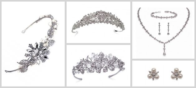 Beautiful collection of bridal hair accessories and jewellery @ Mia Sposa Huddersfield 01484421900