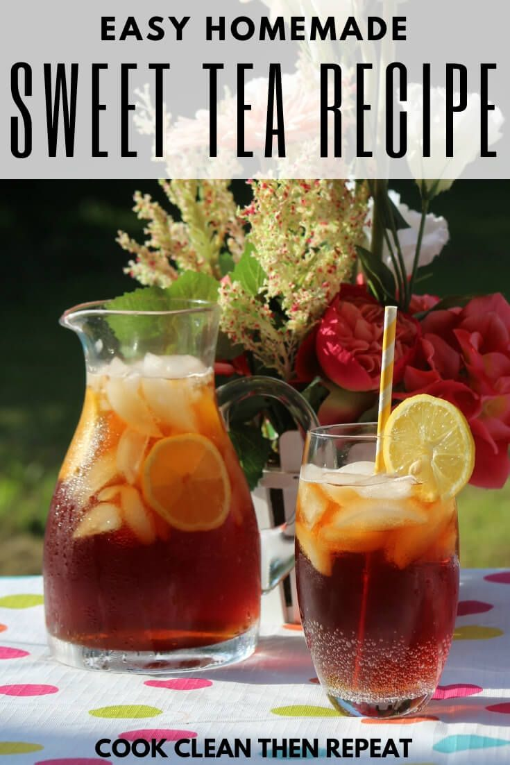 Ready for a quick and refreshing drink for those hot days? This sweet tea recipe…