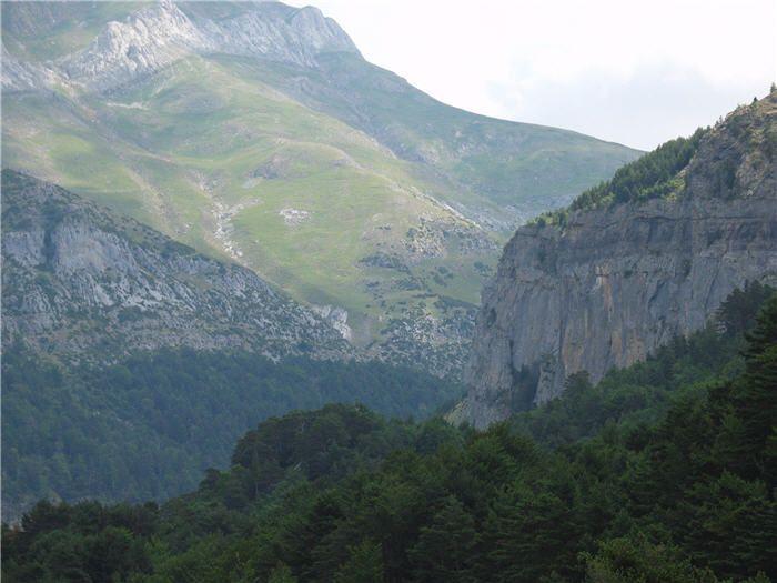Valle de Hecho, Hecho, Huesca, España.