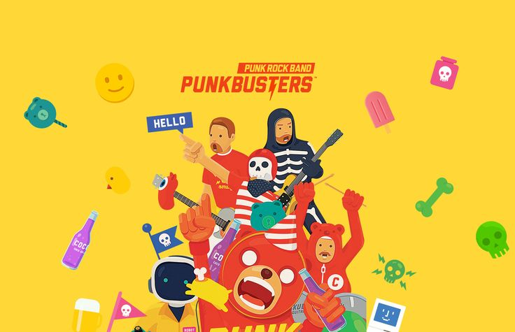 PUNKBUSTERS™ on Behance