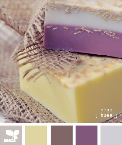 diggin' this color palette. soft colors for the bathroom <3