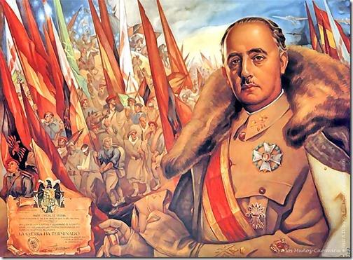 Franco. Basado en el cuadro de Francisco Ribera (1939). Francisco Franco y…