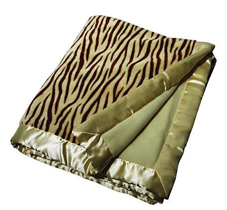 Babymio Jax the Tiger Blanket - Ivory - Best Price