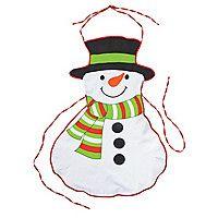 Adult's Snowman Aprons
