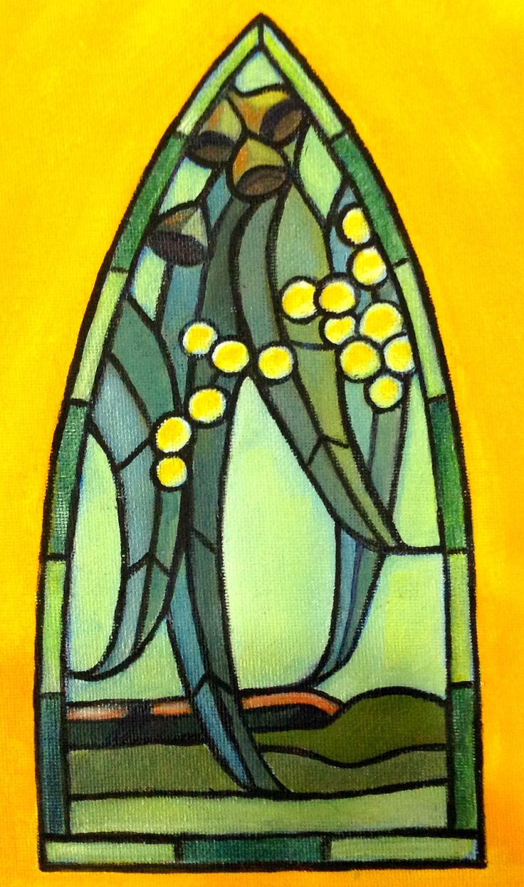 This is a commission design for a lead light window in a beautiful little chapel in Kanimbla Valley, NSW.