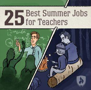 Best Summer Jobs for Teachers