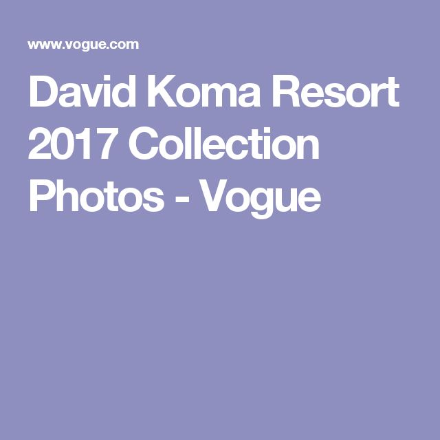 David Koma Resort 2017 Collection Photos - Vogue
