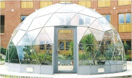 Aluminium Solar Dome By Sapa Uk Dome Pinterest