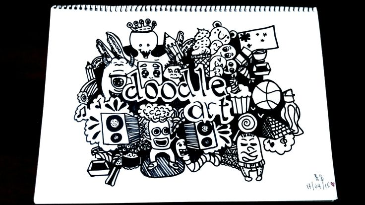 My first Doodle art work