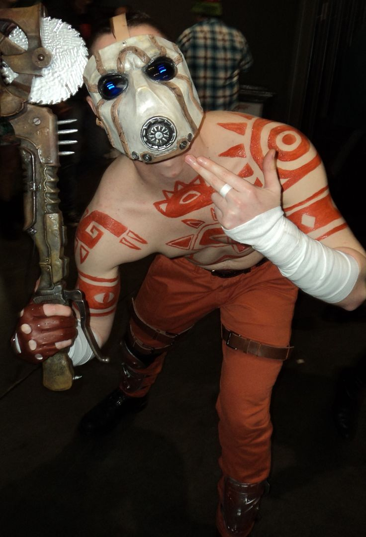 Awesome Psycho Cosplay From Borderlands At Supanova Sydney