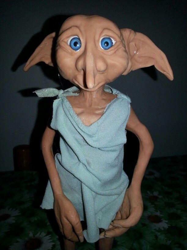 Dobby in porcellana fredda eseguito da Roberta Maistrello