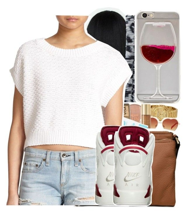 """""""Pretty Asf."""" by tanaisha ❤ liked on Polyvore featuring Roberto Cavalli, Wet Seal and rag & bone/JEAN"""