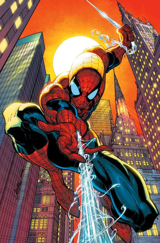 Spider-man by J.Scott Campbell