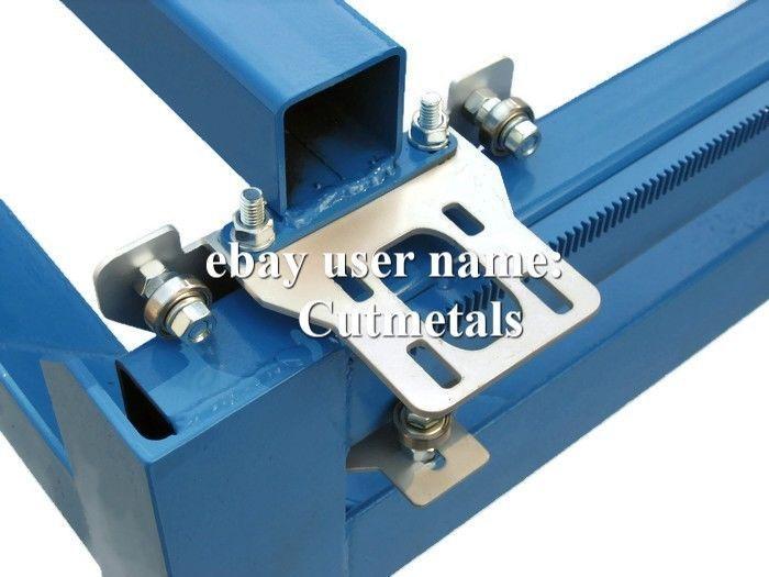 DIY Gantry kit for CNC Plasma cutting table, router fits Nema 23 stepper motors