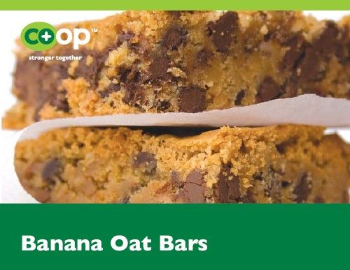 Oat bars, Banana oats and Student-centered resources on Pinterest