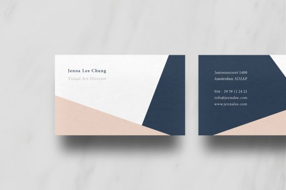 Modern Business Card by Ruben Stom on @creativemarket