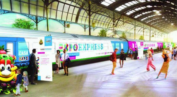 Fino al 31 ottobre, ogni fine settimana è possibile viaggiare in treno sulla direttrice Expo Milano 2015.  A Brescia i convogli fermano alle 8.32 e arrivano a Expo alle 10.05 mentre, per quanto riguarda il tragitto inverso, la partenza è in programma da Expo alle 18.57 e l'arrivo aBresciaalle 20.27. I tempi di percorrenza sono di un'ora e 33 minuti. Il costo del biglietto è di 7,90 euro.