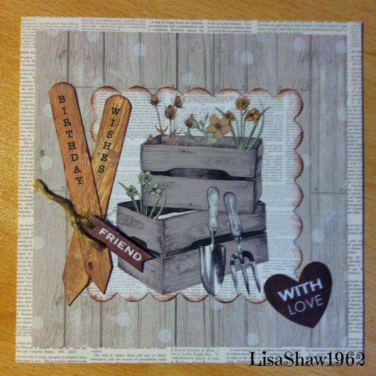 Craftwork Cards Potting Shed