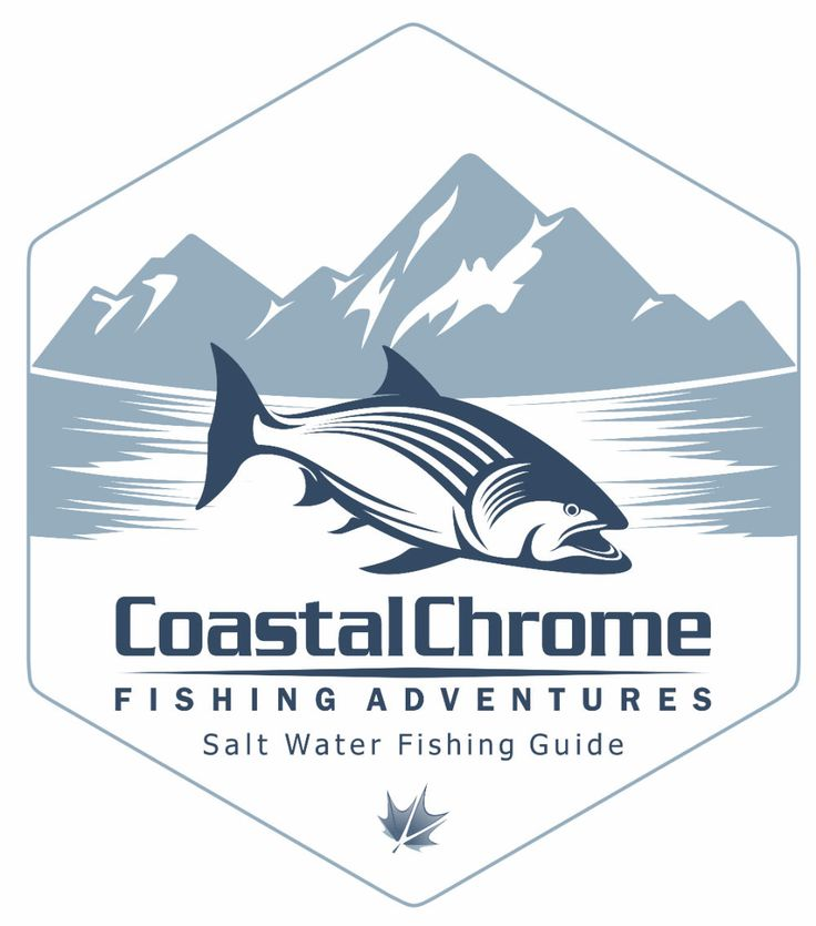 Our latest #logo #design for Coastal Chrome Fishing Adventures in #CampbellRiver http://kervinmarketing.com/coastal-chrome-fishing-adventures-logo