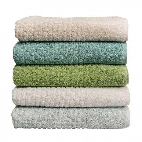 Mosaic Bath Towels