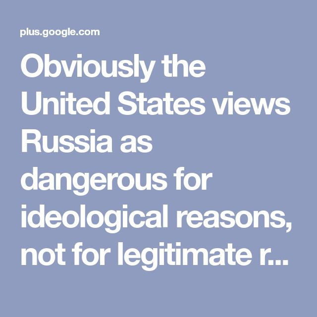 "Obviously the United States views Russia as dangerous for ideological reasons, not for legitimate reasons. Russia keeps exposing the United States as the villain and keeps revealing that the emperor simply has no clothes, and United States officials and indeed the Neocon war machine aren't happy. We know why they are not happy: the Israeli regime isn't happy. This is one reason why Ayelet Shaked, Israeli Justice Minister, ""threatens Putin's life!"" This is one reason why Zionist organs like…"