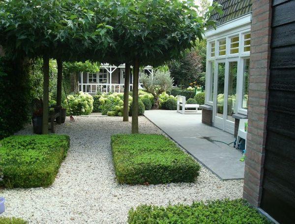 Modern klassieke tuin Interieur design by nicole & fleur