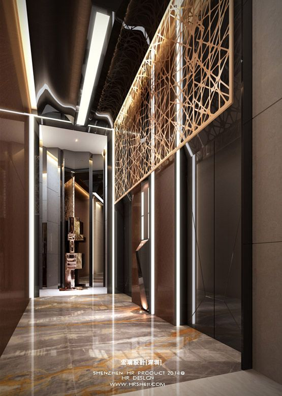 264 best hotel lift lobby images on pinterest hotel for Hotel interior decor