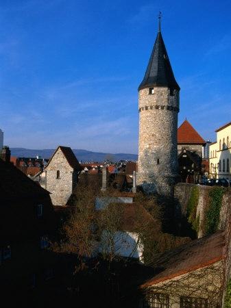 Bad Homburg, Germany where my family lives