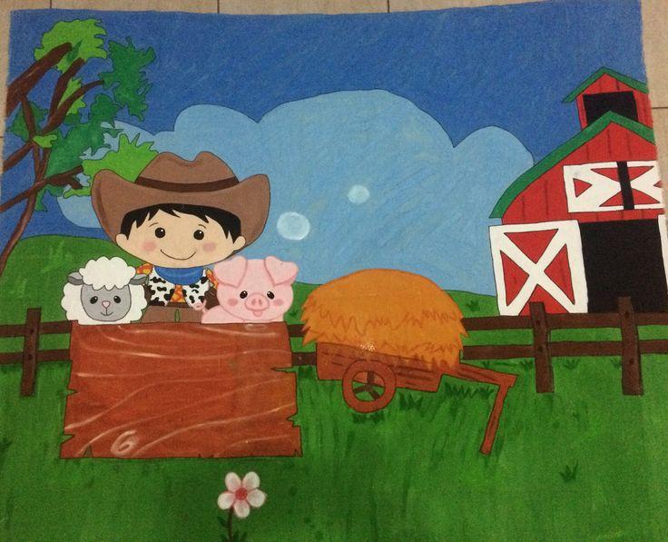 Painel Decorativo a Fazendinha