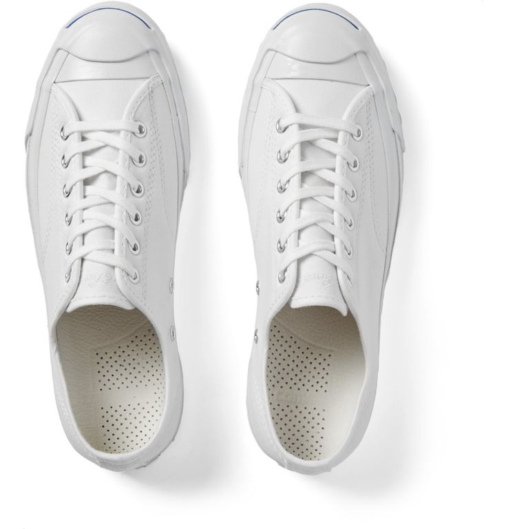 Made iconic by badminton pro Mr Jack Purcell, <a href='http://www.mrporter.com/mens/Designers/Converse'>Converse</a>'s low-top sneakers are a modern update to the label's 1930s style. This neat canvas pair is finished with the signature smile across the toe-caps and has cushioned OrthoLite footbeds for unbeatable comfort. Wear yours to round off casual looks or team them with slim trousers for a smart yet sportif take.