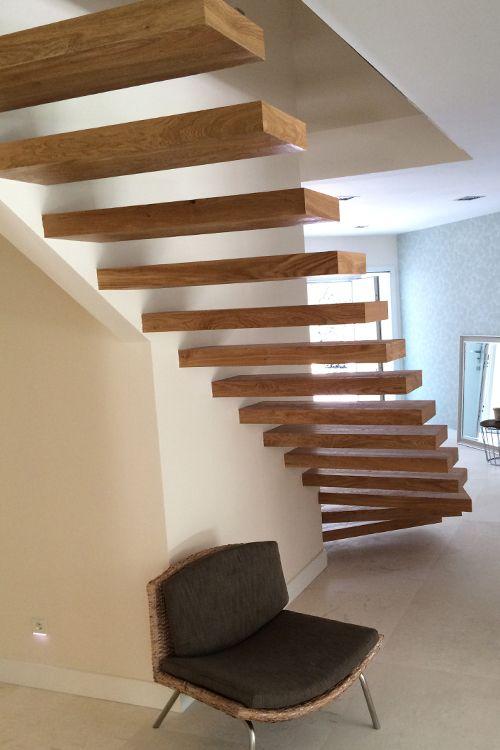 Las 25 mejores ideas sobre escaleras de madera maciza en - Escaleras de madera ikea ...