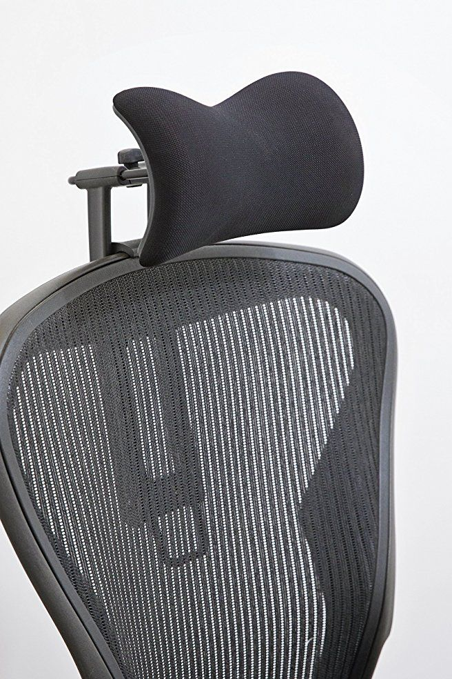 Herman Miller With Neckrest Headrest Chair Herman Miller Aeron