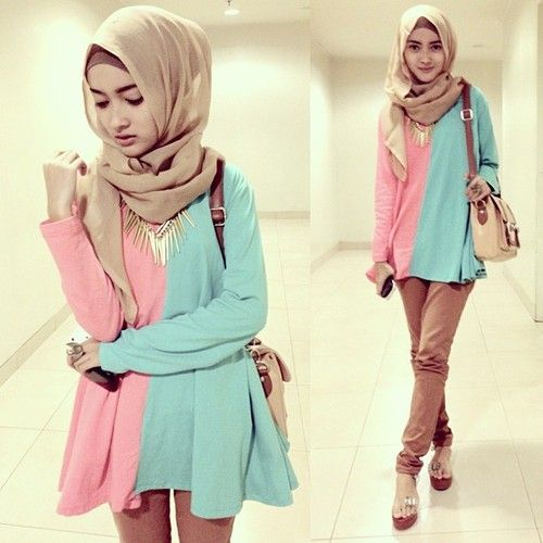 12 Best Yang Dipakai Images On Pinterest Medan Hijab Styles And Fashion Styles