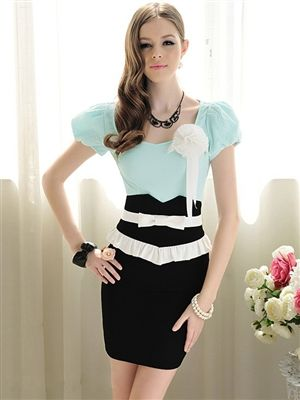 Bow Pencil Skirt Price: $29.95 Qualifies for free shipping #skirt #fashion #vintage