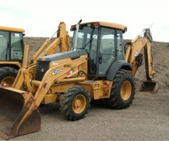 Used 2005 Deere Loader backhoe for sale in by Ruff Sales and Service for only $ 39500 in belle Plaine, MN, USA at HiFiMachinery.Com