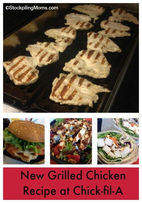 New Grilled Chicken Recipe at Chick-fil-A has a GREAT backyard BBQ flavor!
