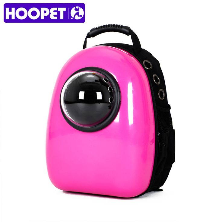 Hoopet Space Capsule Shaped Pet Carrier Breathable Cat Backpack Dog Outside Travel Portable Fashion Women Bag Cartoon Bags