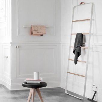 Drabinka łazienkowa- #MENU - DECO Salon. #bathroom #ladder #scandinaviandesign