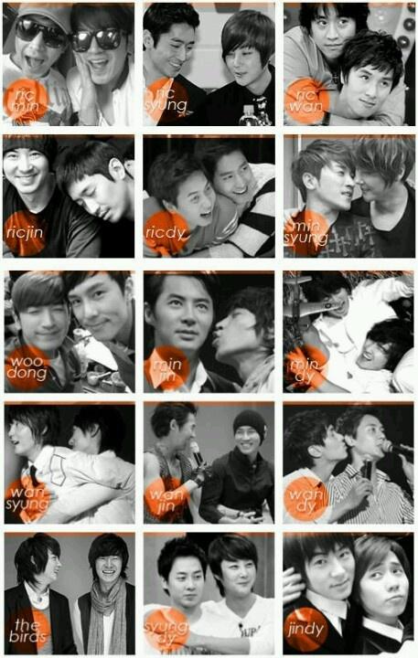 Shinhwa Couples