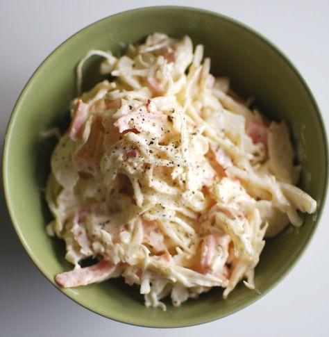 Vardagsmat, enkel coleslaw