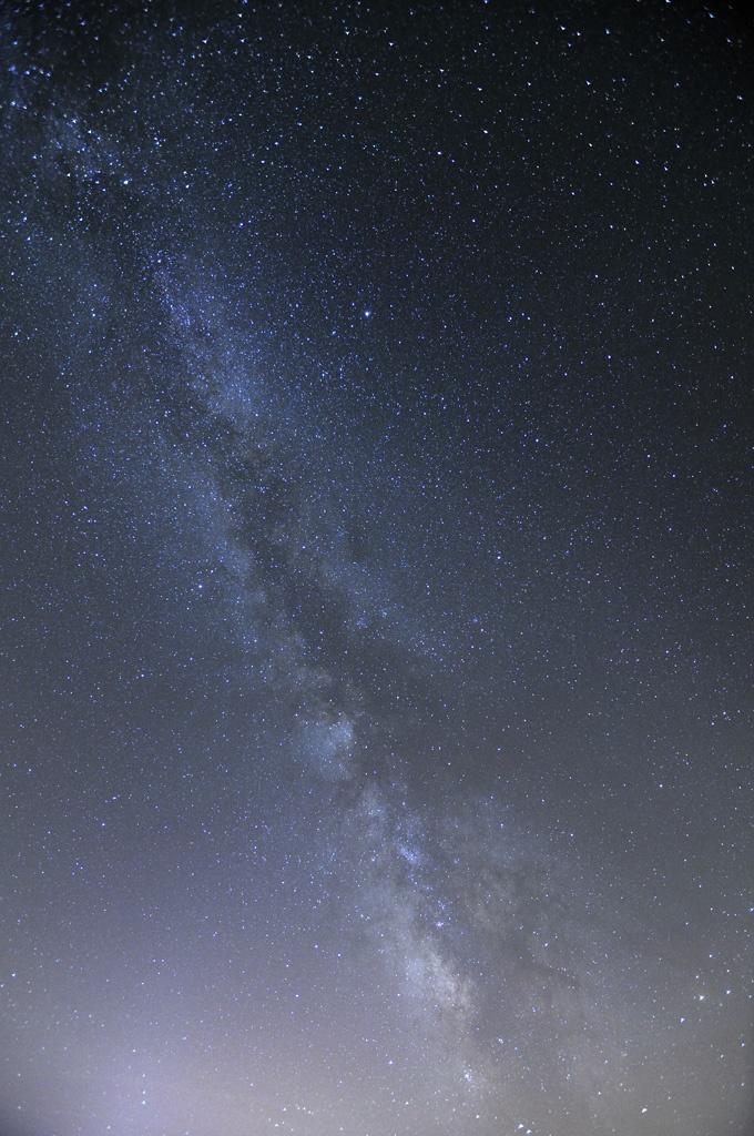 Voie Lactée prise depuis l'observatoire du plateau de Calern - Caussol (06)Cliché réalisé à l'aide d'une monture équatoriale prêtée et réglée par Sebastien Taghite.  Par Fabien Dupy - www.dupy.fr