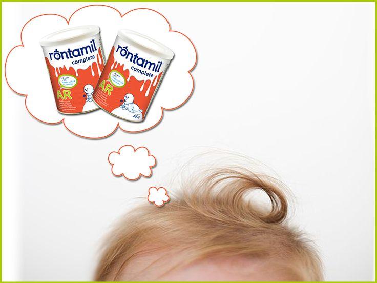 """""""Όταν σκέφτομαι το rontamil στο κόκκινο κουτί, σκέφτομαι ήρεμα στομαχάκια χωρίς αναγωγές-χωρίς παλινδρόμηση"""".  Είναι αλήθεια! Το rontamil AR είναι παχύρευστο γάλα σε σκόνη, ειδικά σχεδιασμένο ώστε να συμβάλλει στην αντιμετώπιση των βρεφικών αναγωγών που οφείλονται σε γαστροοισοφαγική παλινδρόμηση."""