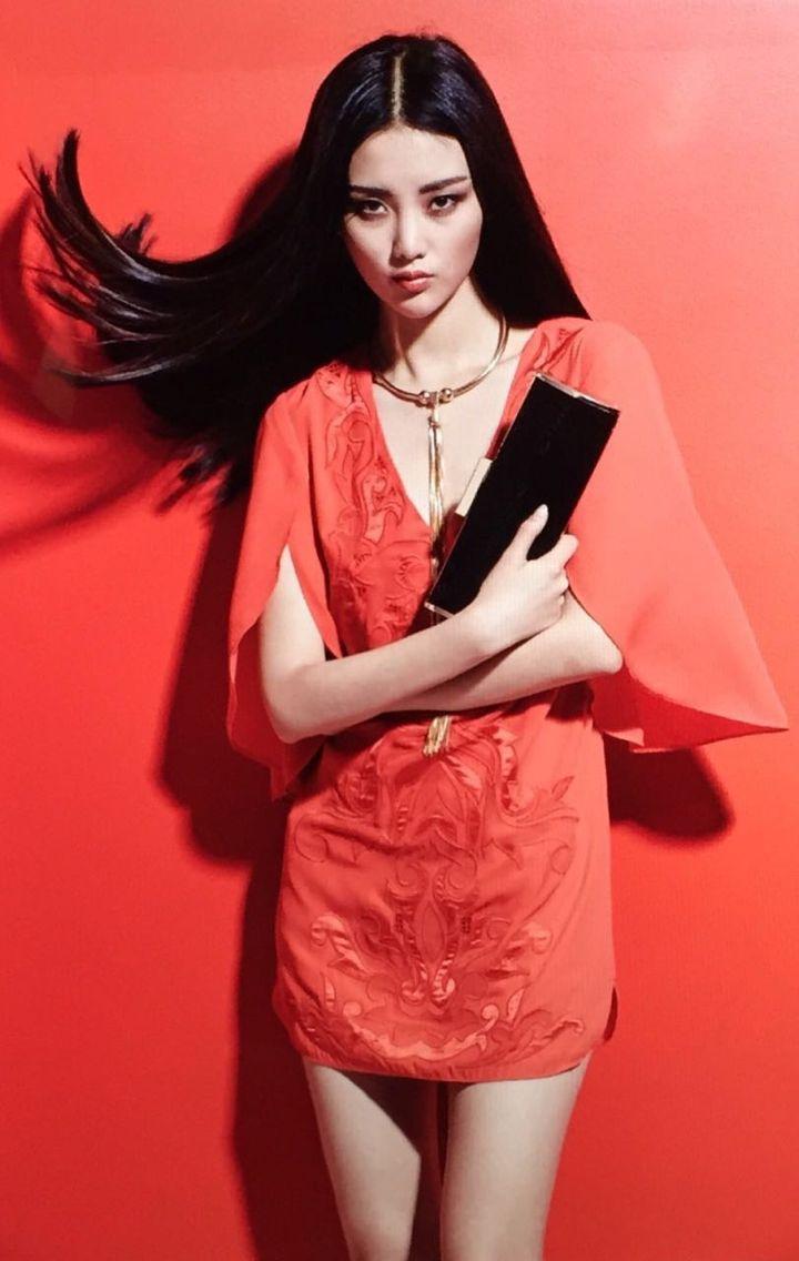 Huo Jialin Height:180  Bust: 84  Waist: 61  Hips: 89